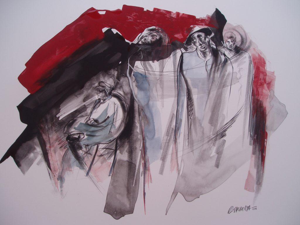 oeuvre peinte par eliane karakaya artiste peintre