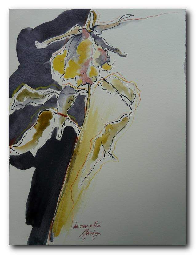 fleur art painting eliane karakaya artiste peintre strasbourg